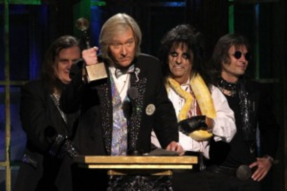 Alice Cooper Band induction
