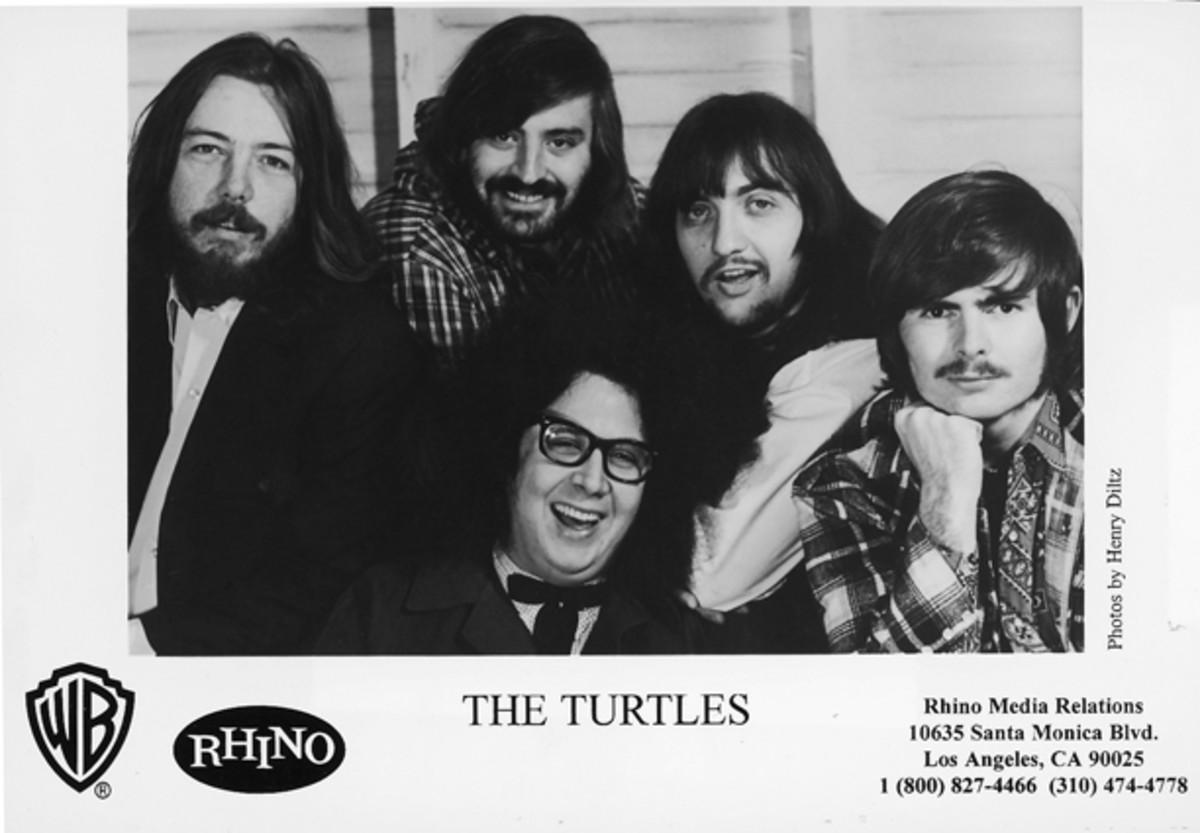 The Turtles photo courtesy Rhino