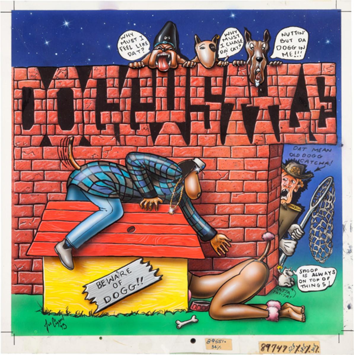 Snoop Dogg Doggystyle original album art