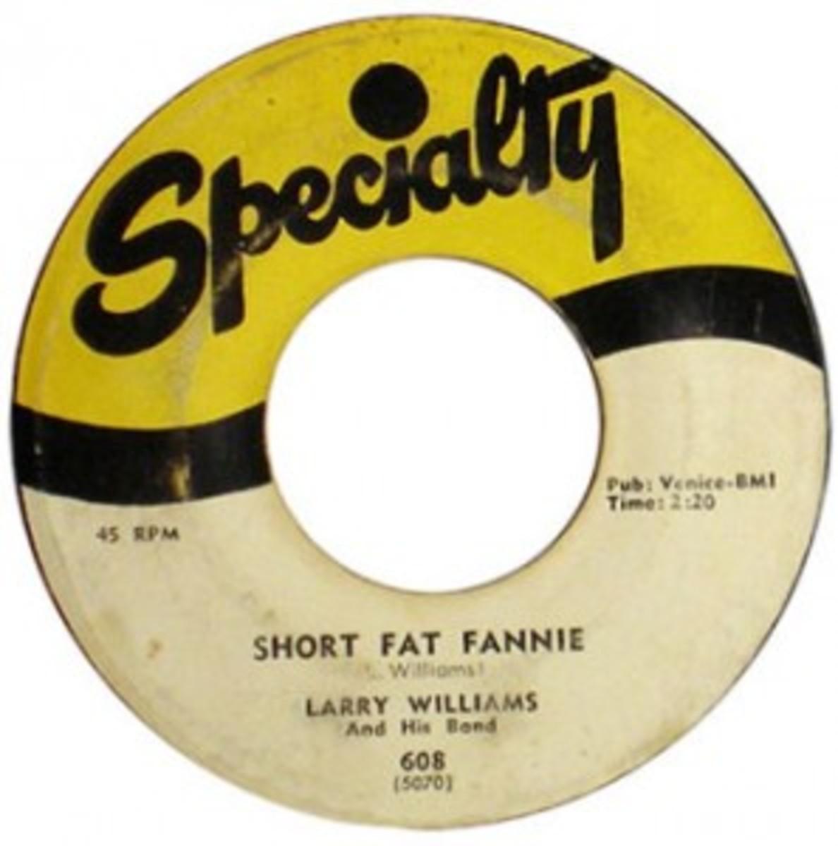 Larry Williams Short Fat Fannie