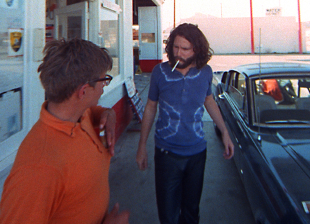 "THE FOOTAGE of ""HWY"" becomes the spirit of Jim Morrison, wandering. Photo courtesy Rhino/Paul Ferrara"