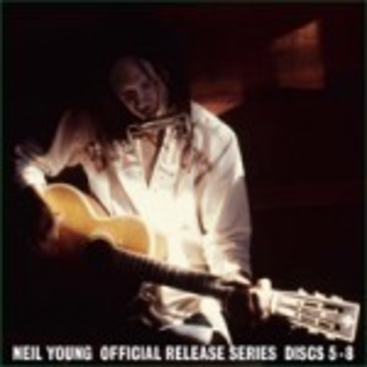 Neil Young official release series discs 5 through 8 on vinyl