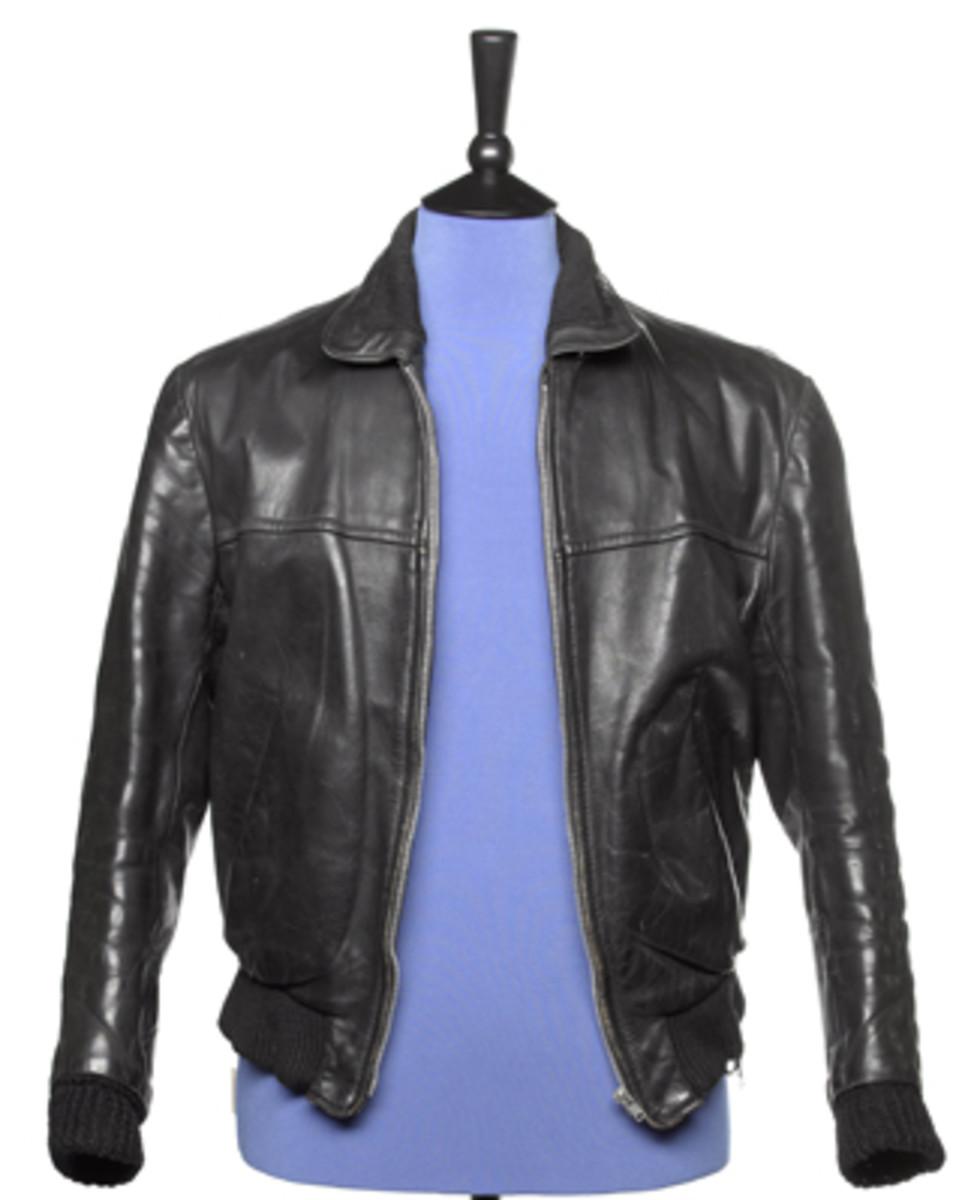 George Harrison Beatles leather jacket