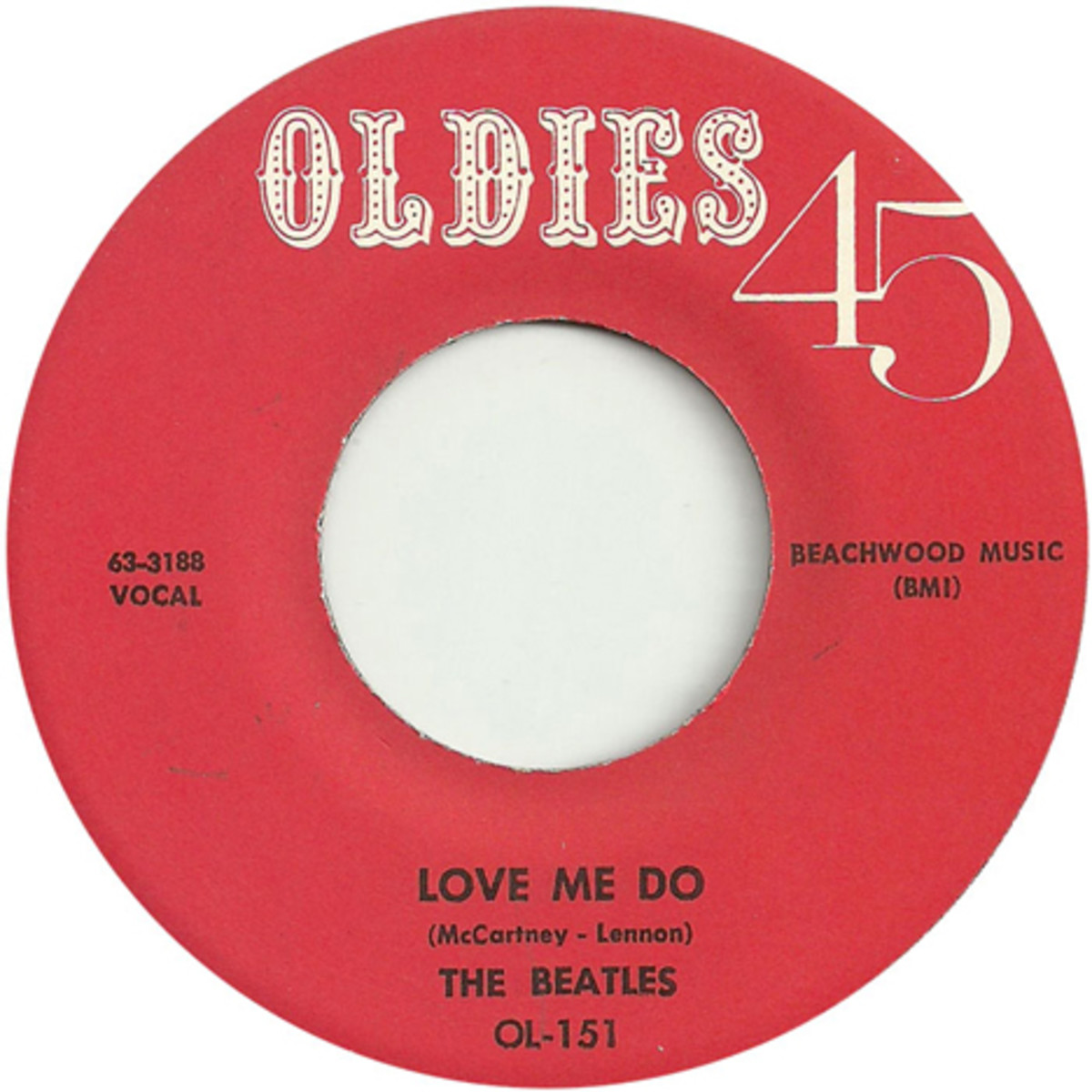 The Beatles Oldies 45 Love Me Do