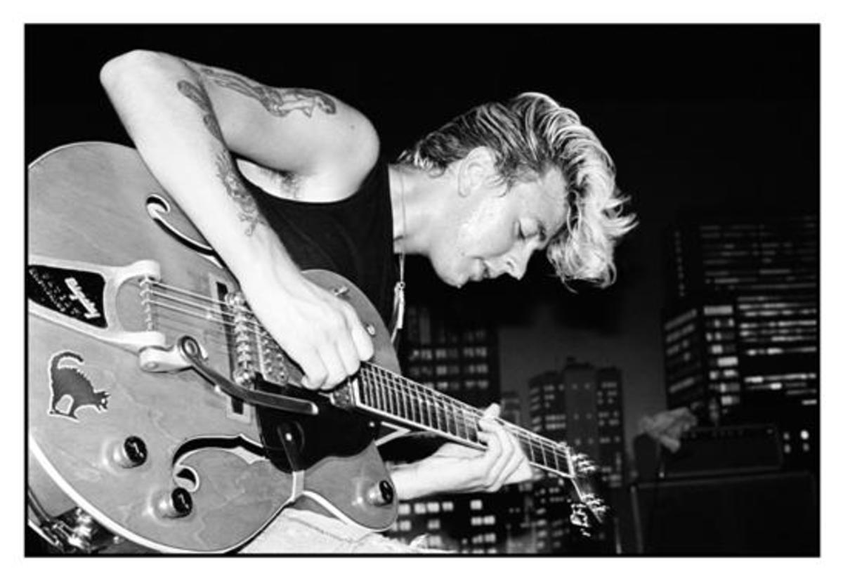 A photograph of Brian Setzer. Courtesy of MSO.