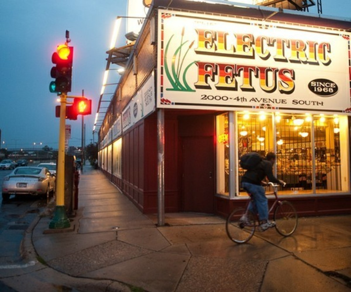 Electric Fetus record shop