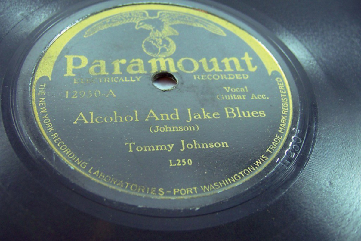 Tommy Johnson Alcohol and Jake Blues on Paramount 12950