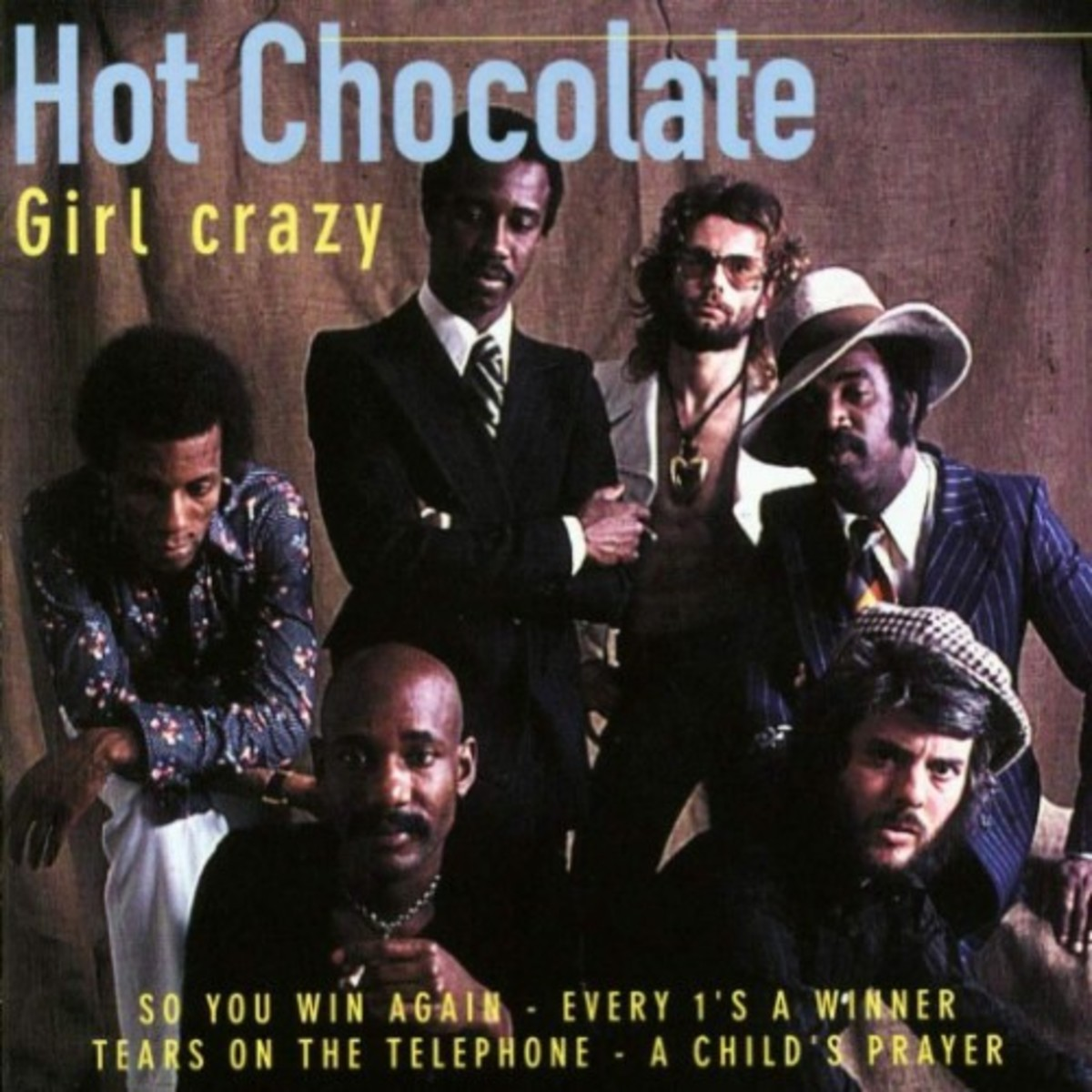 Hot Chocolate - Girl crazy - Front(500)