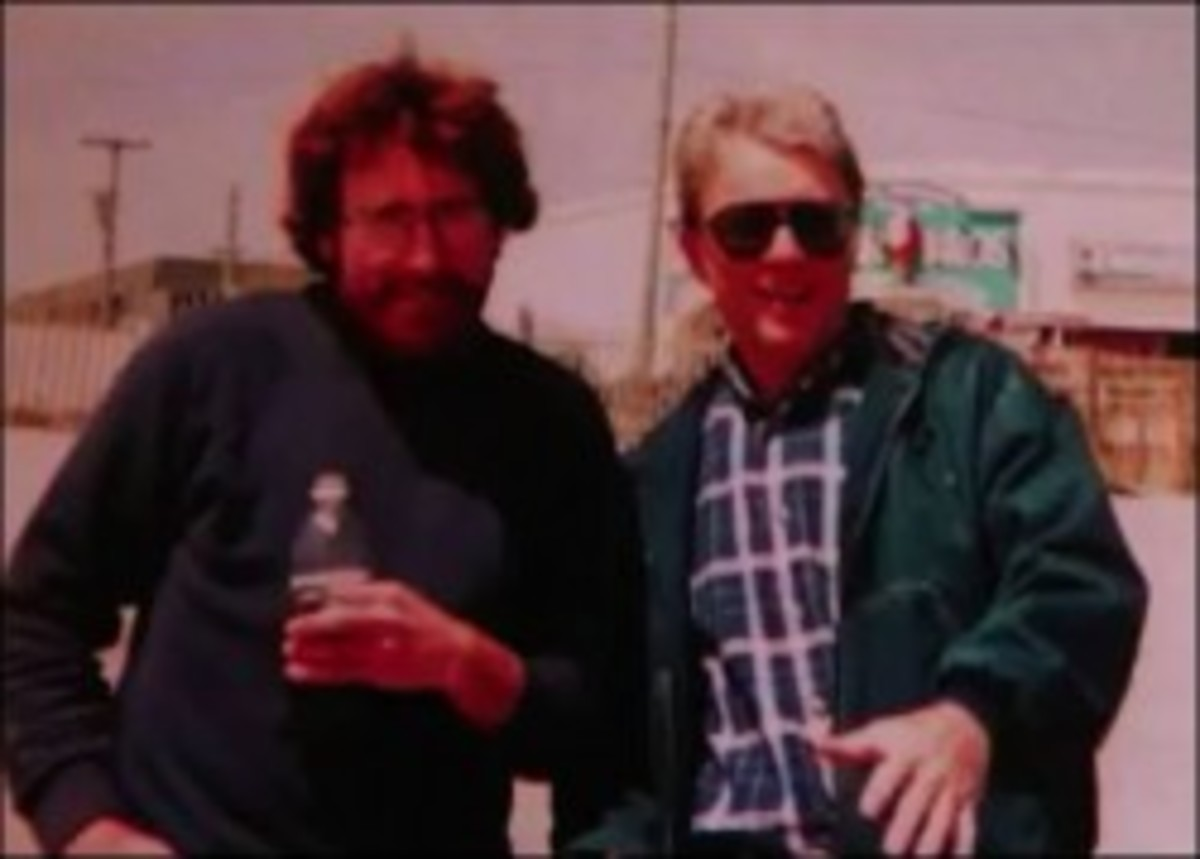 Markie Hutchinson (left) & Joe Seddon