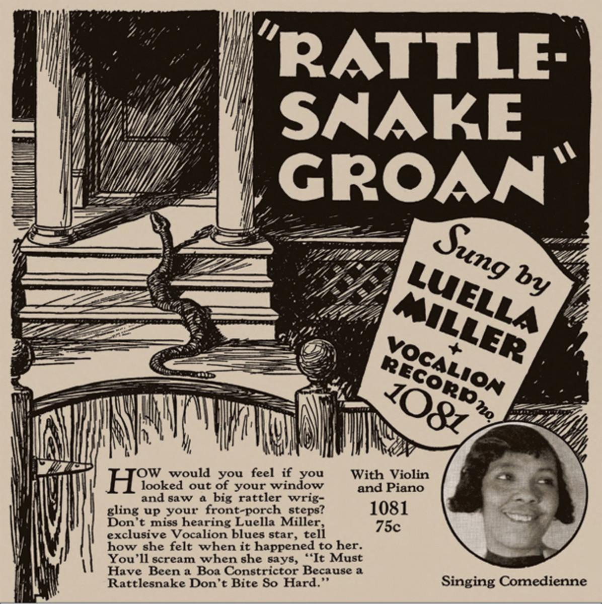 Luella Miller Rattlesnake Groan