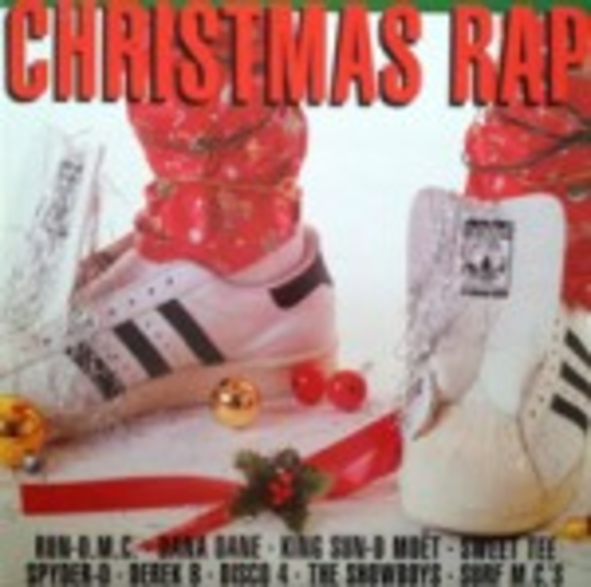 Christmas Rap on vinyl various artists collection