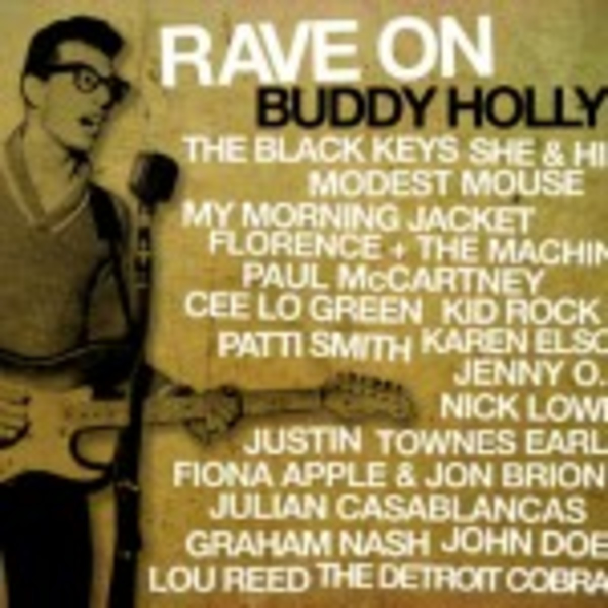 Rave On Buddy Holly cover