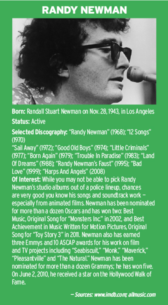 Randy Newman biography
