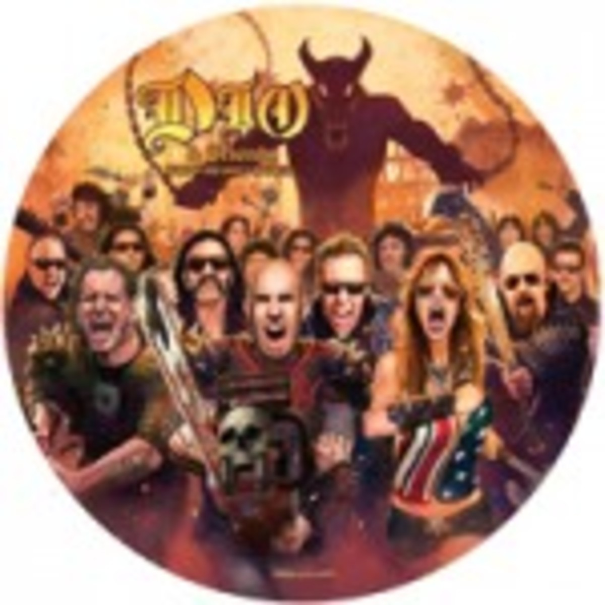 Ronnie James Dio and Friends stand up to cancer picture disc