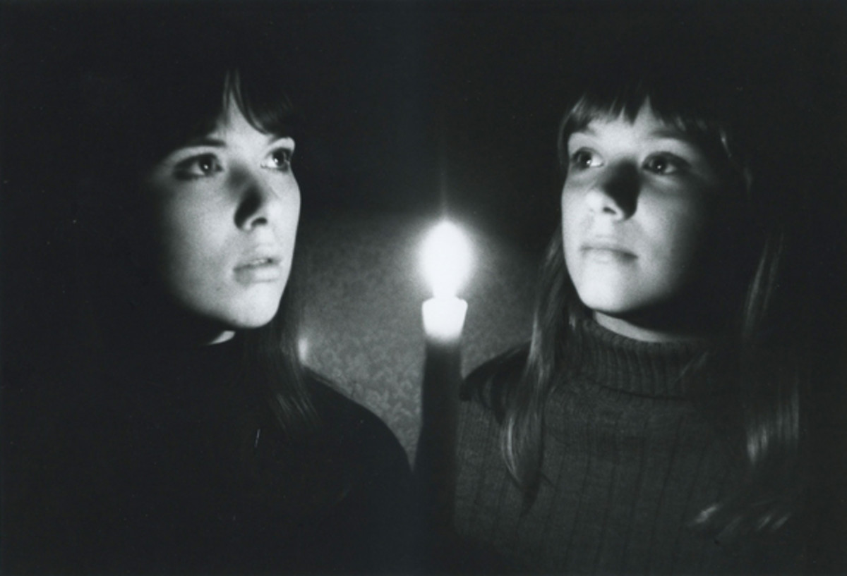 Heart sisters Ann and Nancy Wilson in 1966