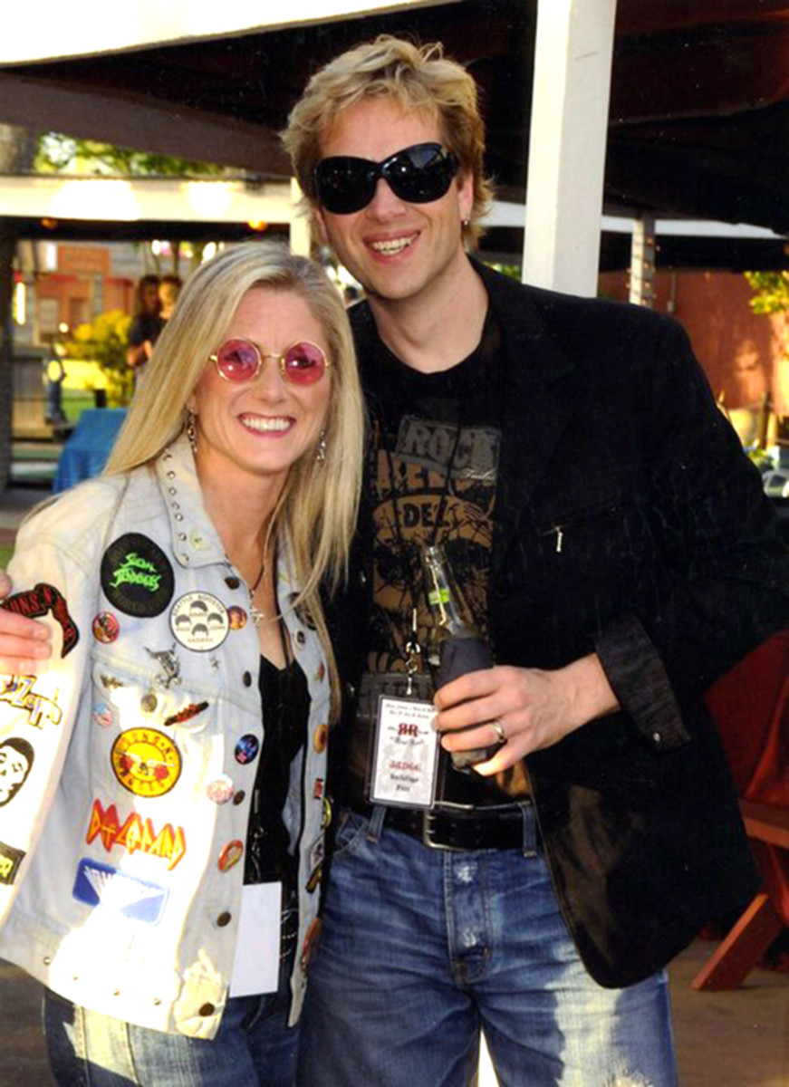 Jacques and Kelli van Gool of Backstage Auctions.