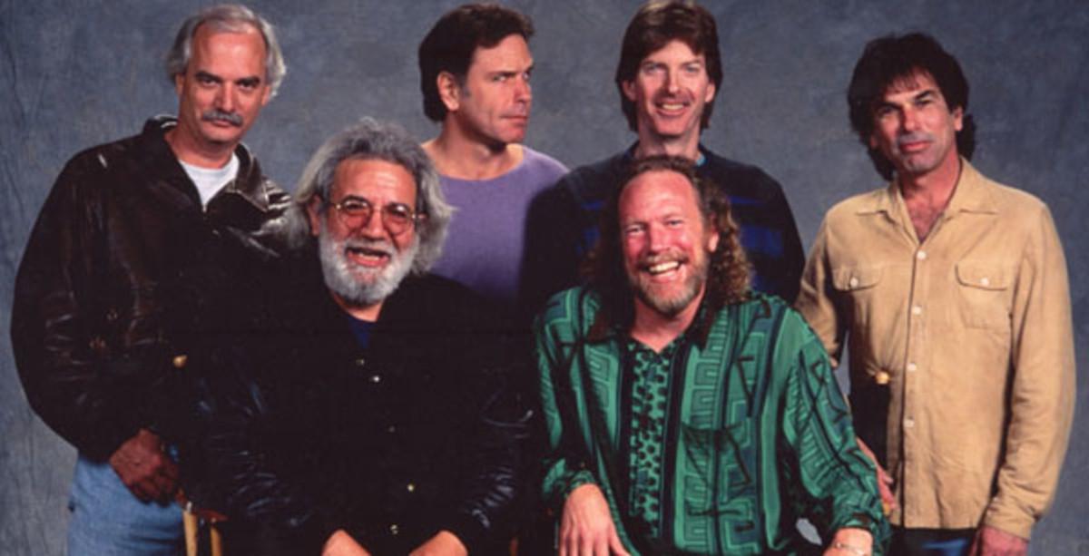 Grateful Dead 1993. Photo by Ken Friedman