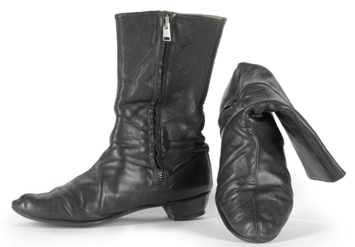 George Harrison Beatle boots