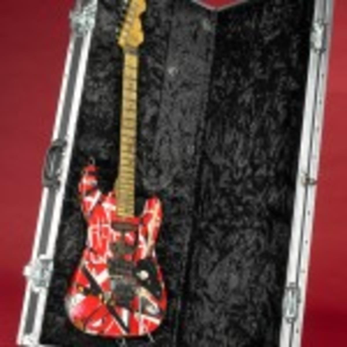 "Eddie Van Halen's ""Frank 2"" guitar (photo by Hugh Talman)"