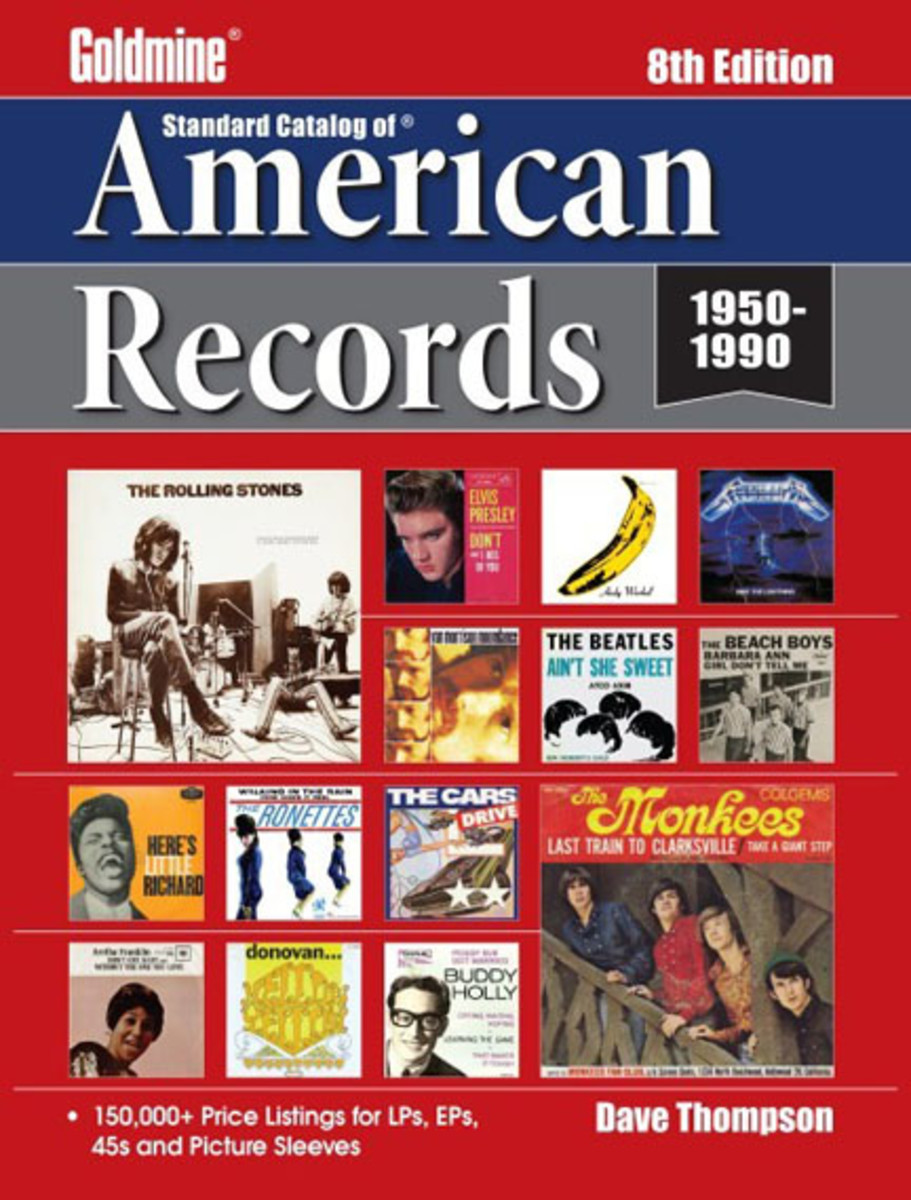 Goldmine Standard Catalog of American Records 8th Edition