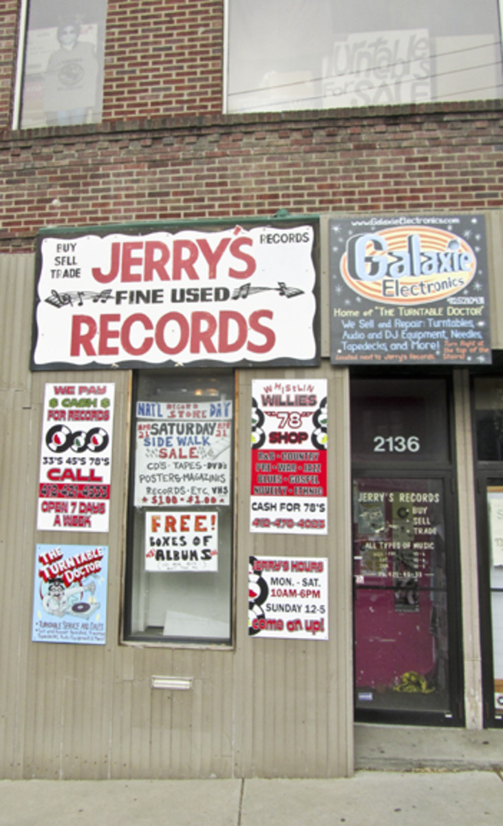 Jerry's Records in Pittsburgh