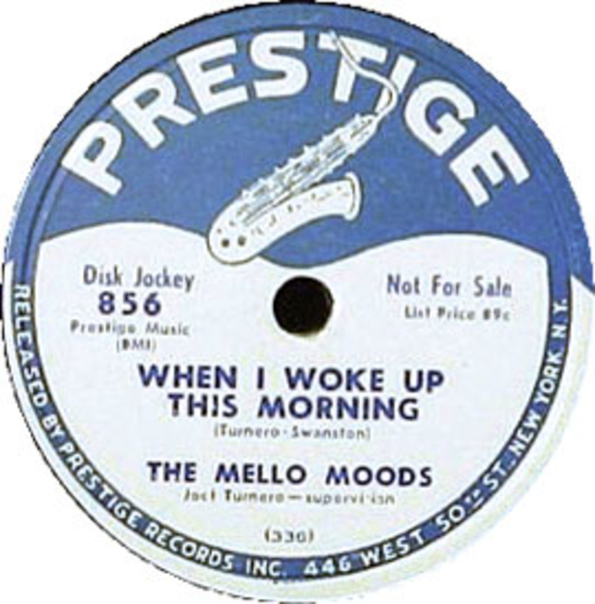 The Mello-Moods When I Woke Up This Morning