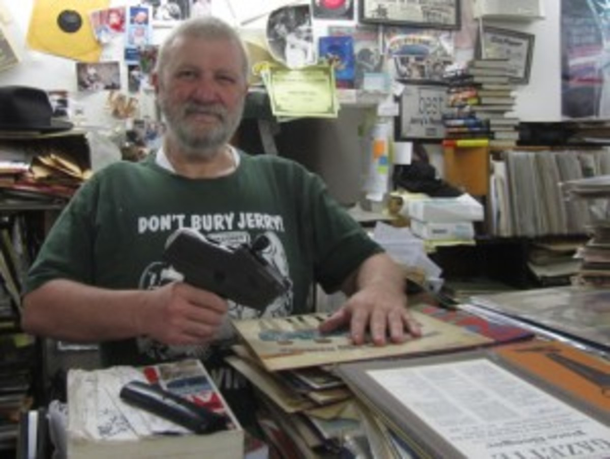 Jerry Webber of Jerry's Records in Pittsburgh