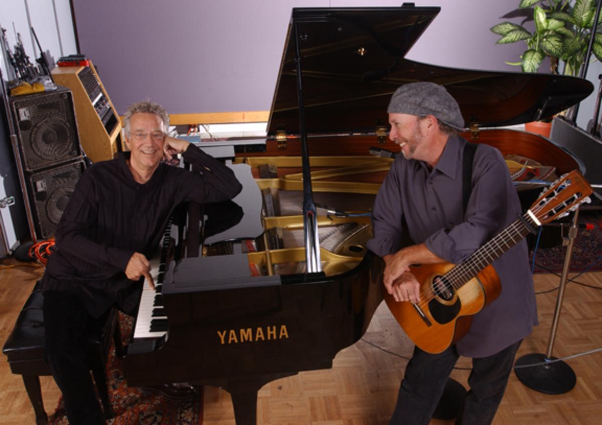 Ray Manzarek and Roy Rogers