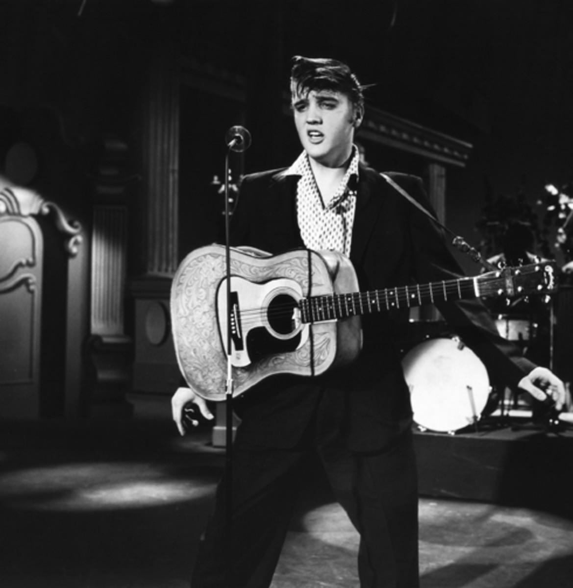 Elvis Presley Steve Allen Show 1956
