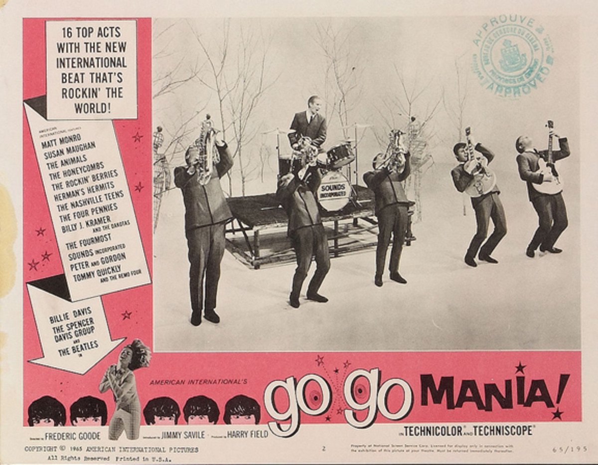 Sounds Incorporated featured in Go Go Mania