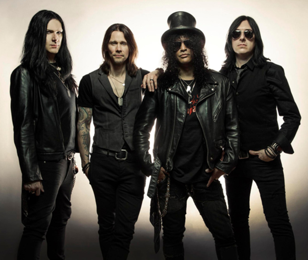 Slash featuring Myles Kennedy and The Conspirators publicity photo by Travis Shinn