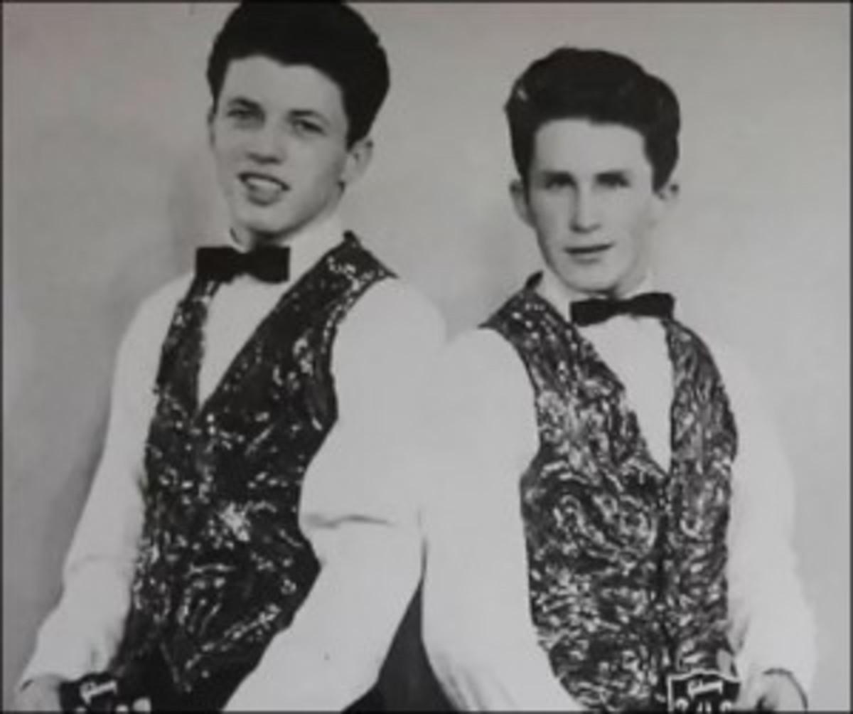 The Two Teens - Joe (left) & Mark Hutchinson