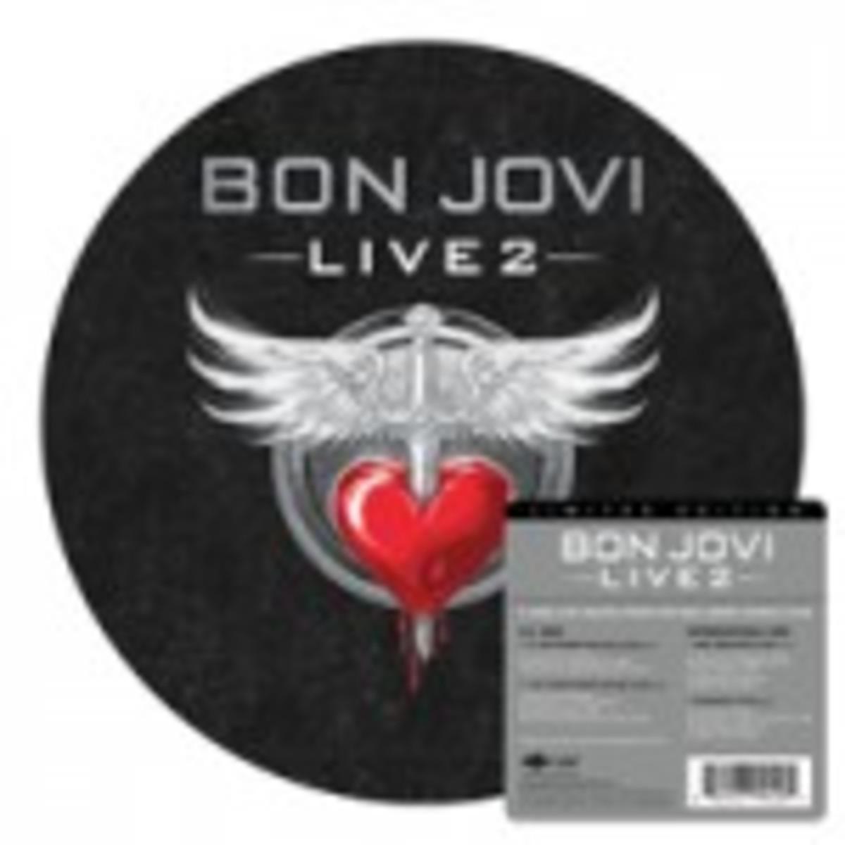 Bon Jovi Live 2 on vinyl
