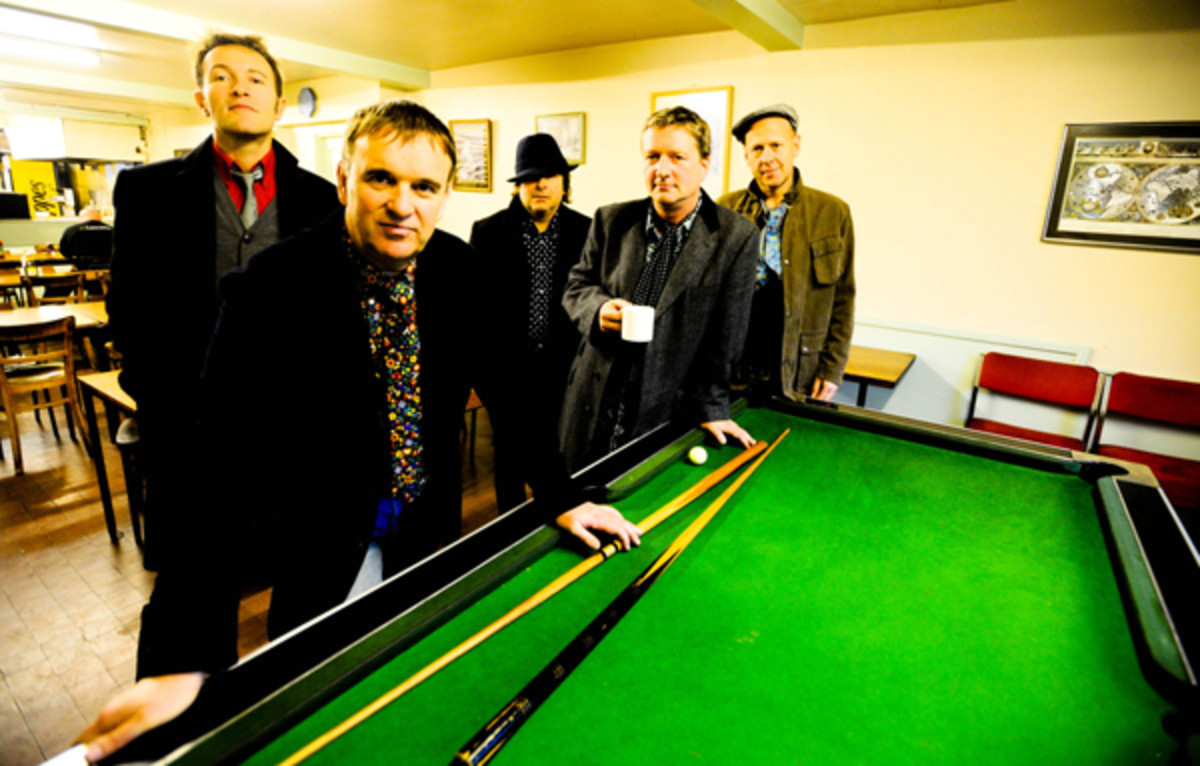 "SQUEEZE (Stephen Large, Glenn Tilbrook, Chris Difford, John Bentley and Simon Hanson) is one group among a generation of artists finding new ways to present vintage songs beyond the traditional ""best-of"" hits pack. Their new project is ""Spot The Difference."" Photo courtesy SqueezeOfficial.com"
