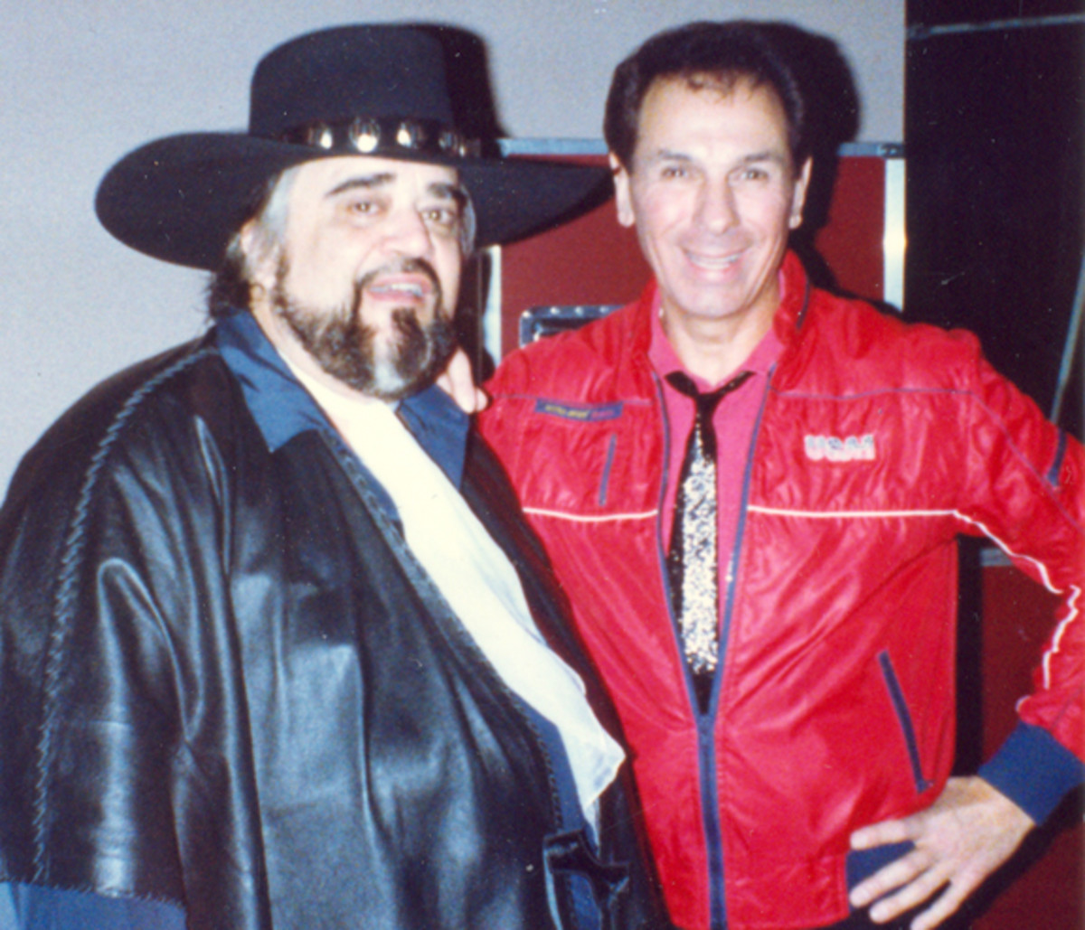 Freddy Cannon and Wolfman Jack