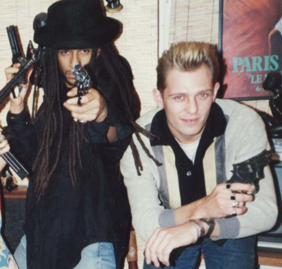 Don Letts and Paul Simonon credit Don Letts