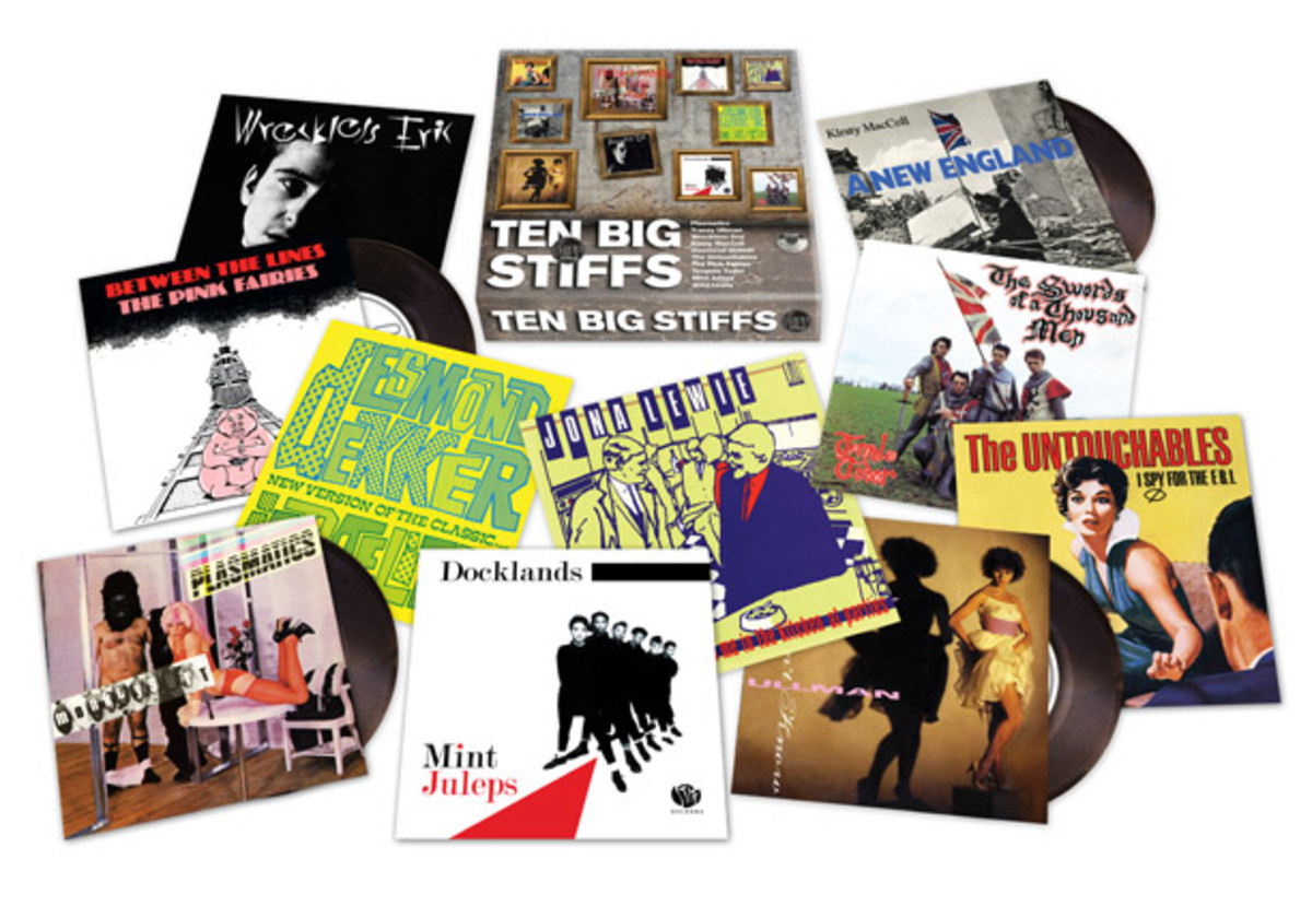 The Ten Big Stiffs box set was among the many multi-disc choices offered as Back to Black Friday releases. Photo courtesy Record Store Day.