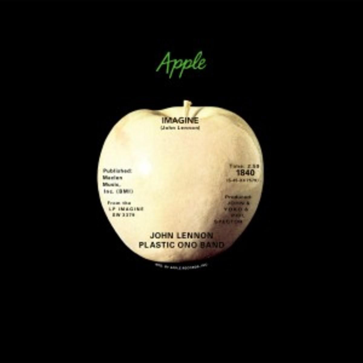 John Lennon - Imagine - single art
