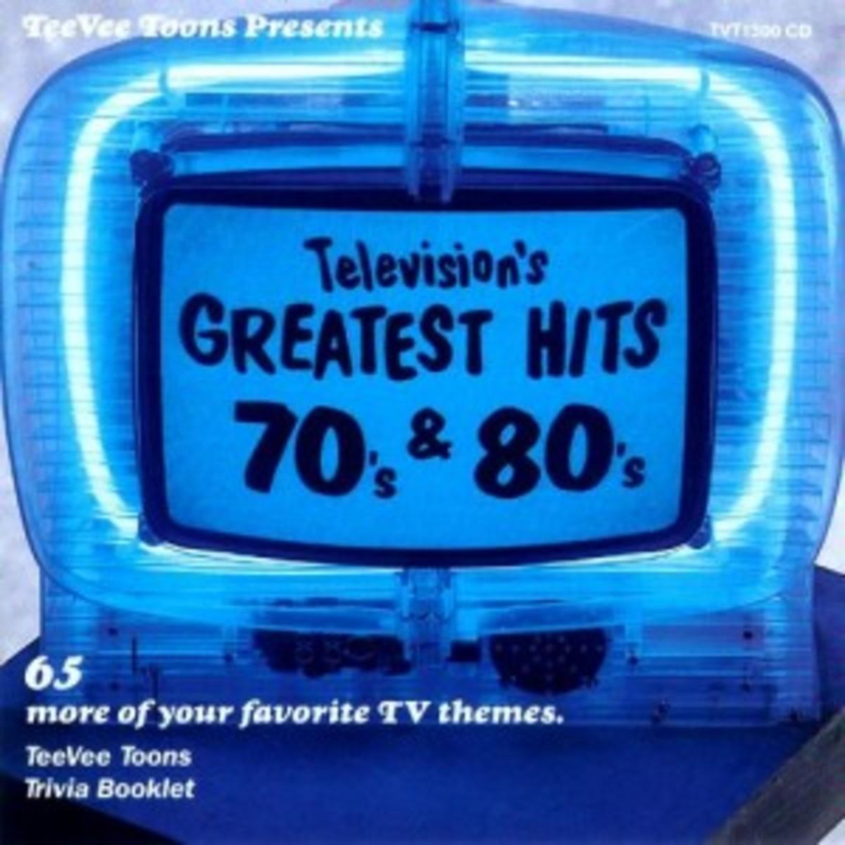 TeeVee Toons Presents Television's Greatest Hits, Vol. 3 70's & 80's [Soundtrack] album