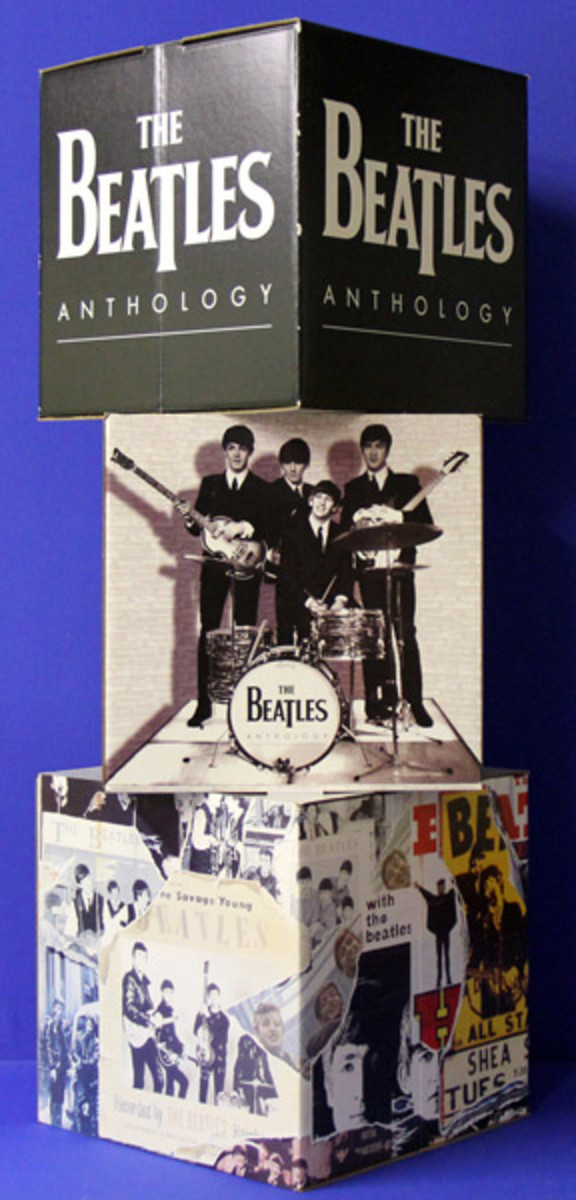 Beatles Anthology display Backstage Auctions