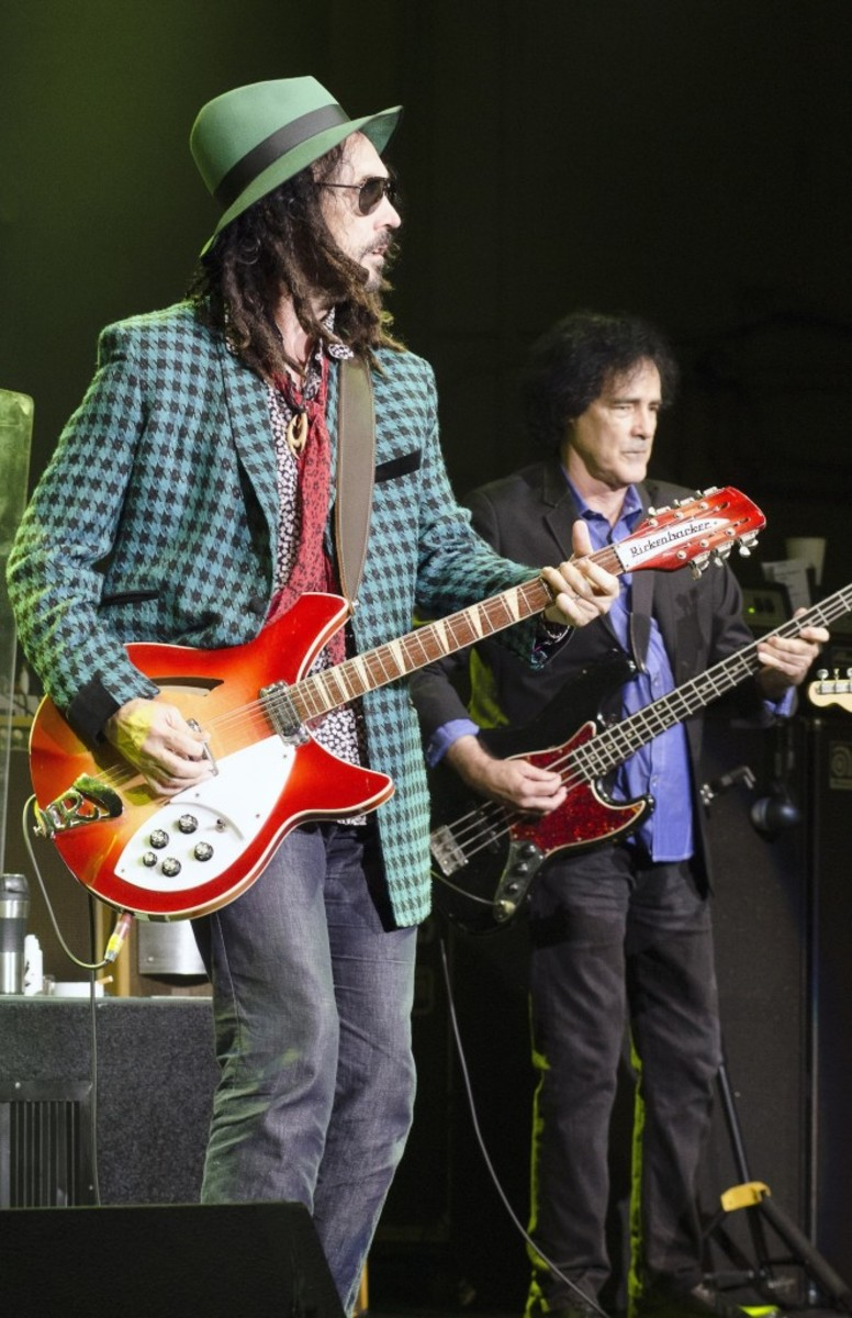 Mike Campbell and Ron Blair (Photo by Chris M. Junior)
