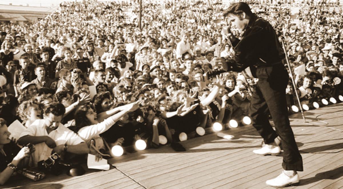 Elvis Presley 1956 state fair