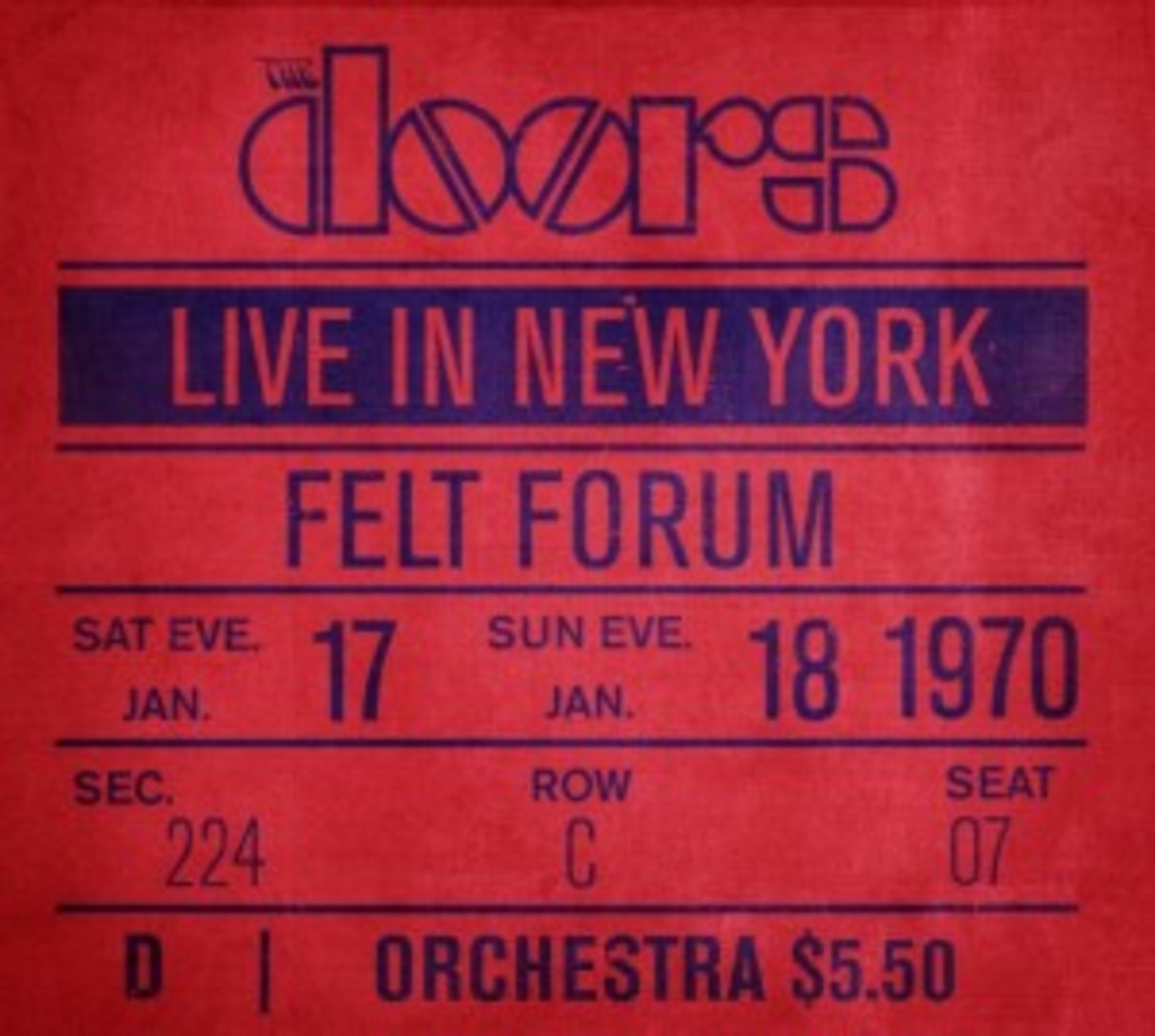 The Doors_Live In New York
