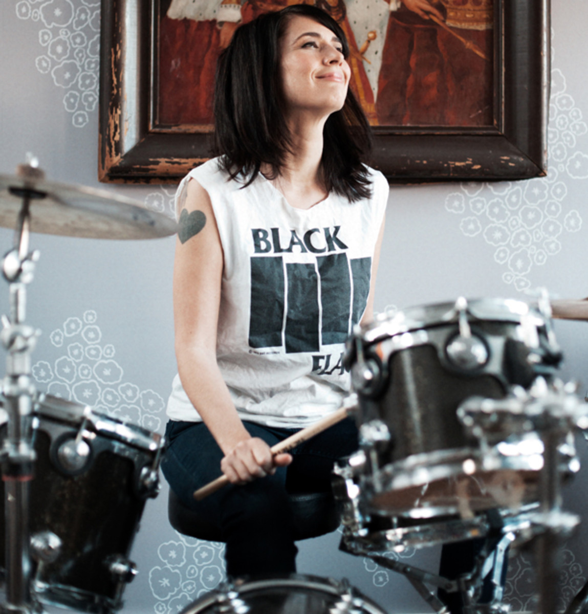 """""""The Punk Singer"""" shares the story of musician Kathleen Hanna, who was involved in the riot grrrl movement. Her bands included Le Tigre and Bikini Kill. Photo courtesy Seattle International Film Festival."""