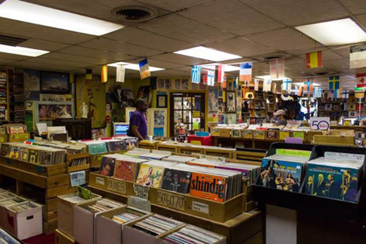 Charlemagne Record Exchange in Birmingham, Alabama