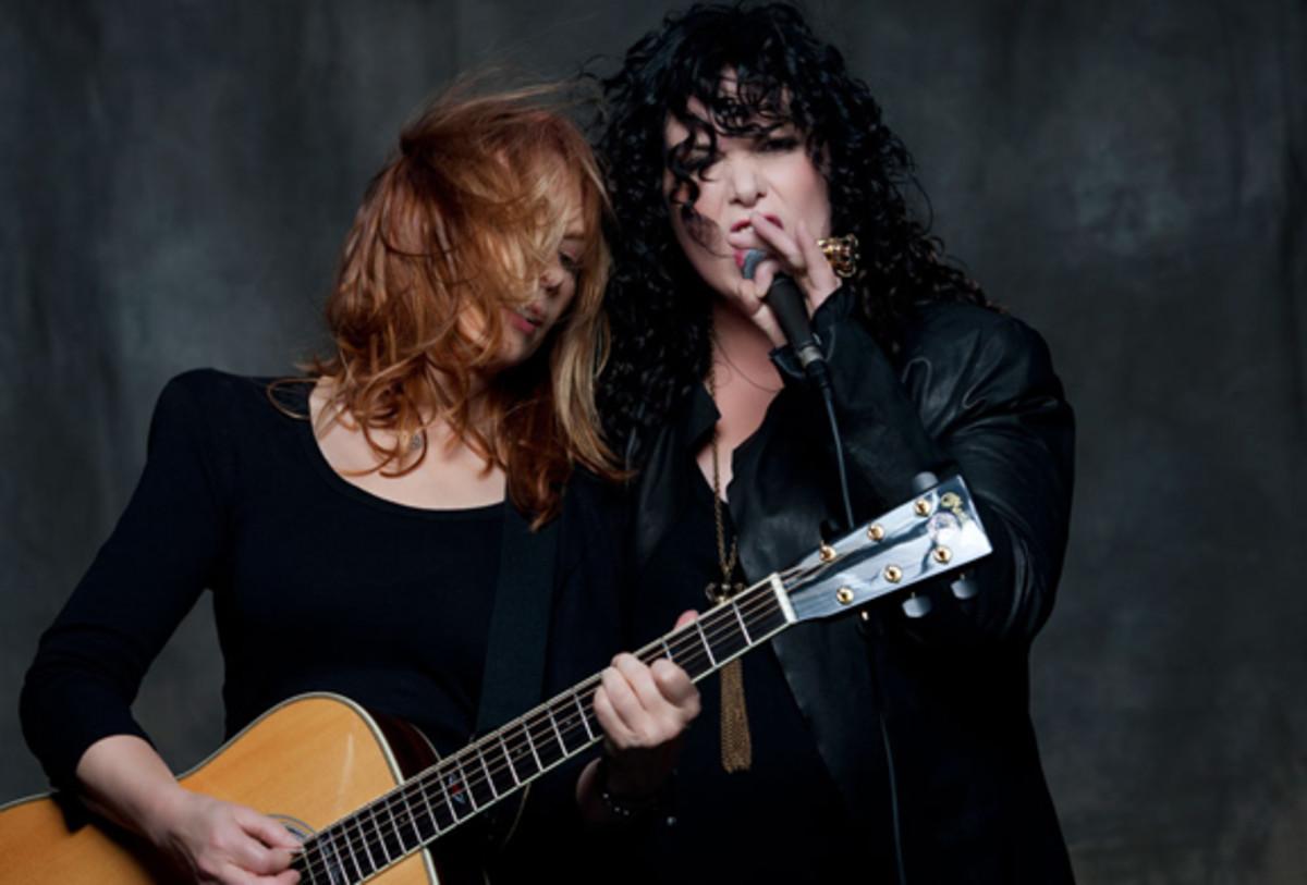 Heart Ann and Nancy Wilson