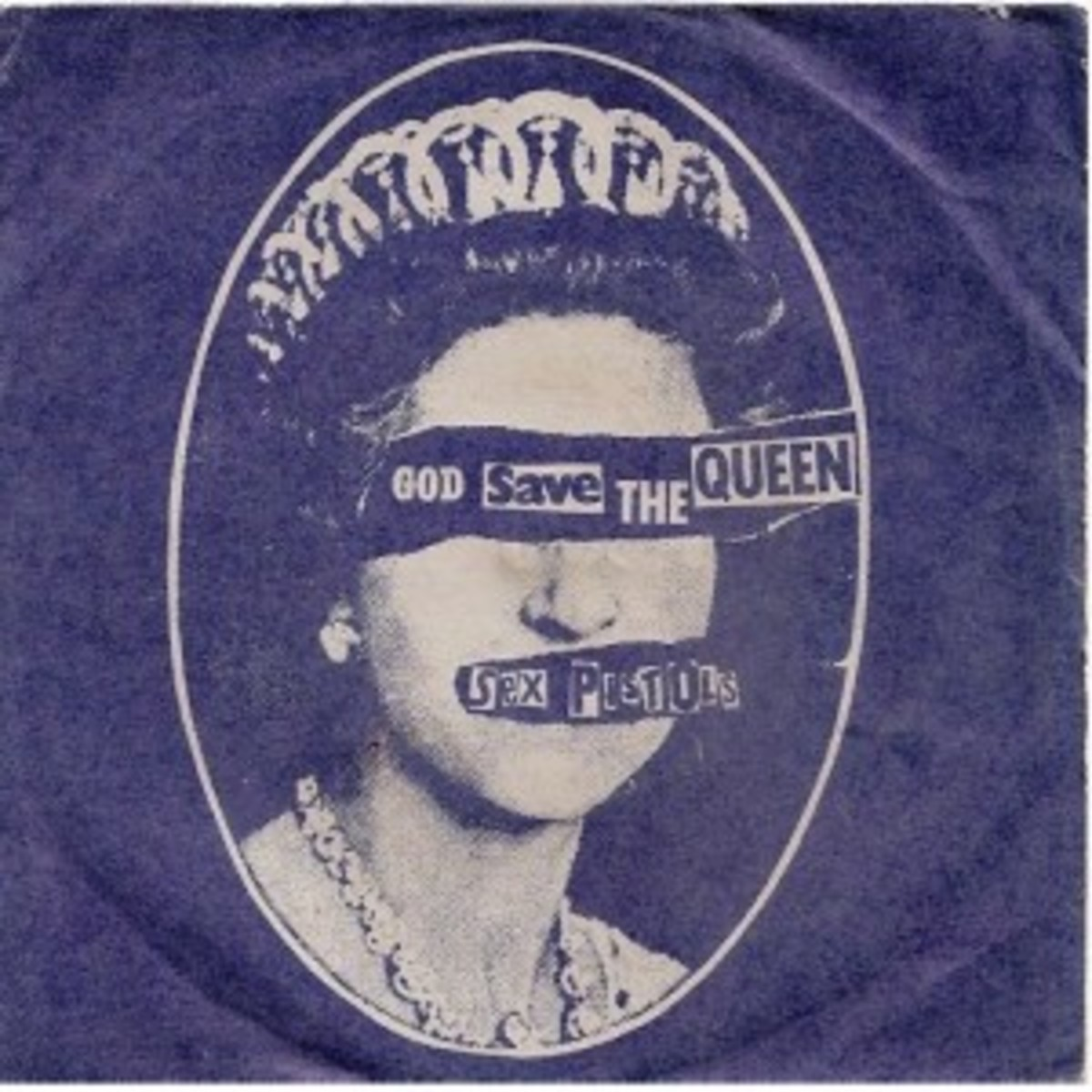 "2. Sex Pistols ""God Save The Queen"" b/w ""Did You No Wrong"" 7-inch picture sleeve."