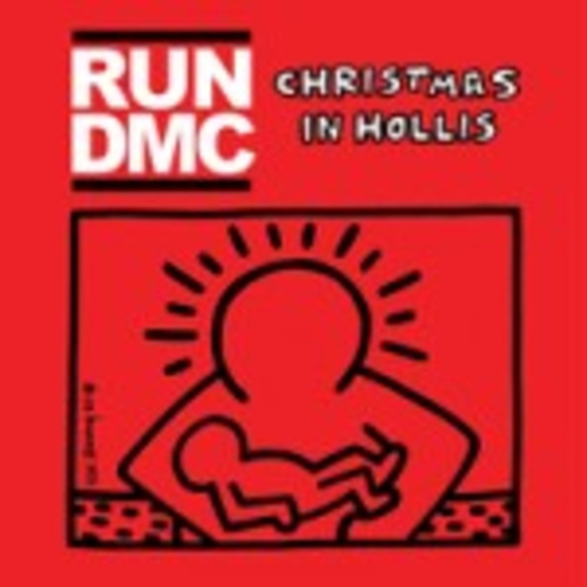 Run DMC Christmas in Hollis with Keith Haring cover art