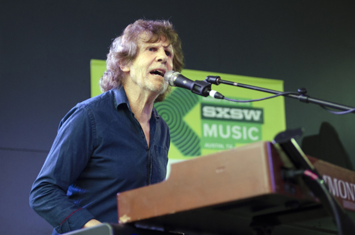 Rod Argent performing with The Zombies in Austin earlier this year at SXSW. Photo by Chris M. Junior.