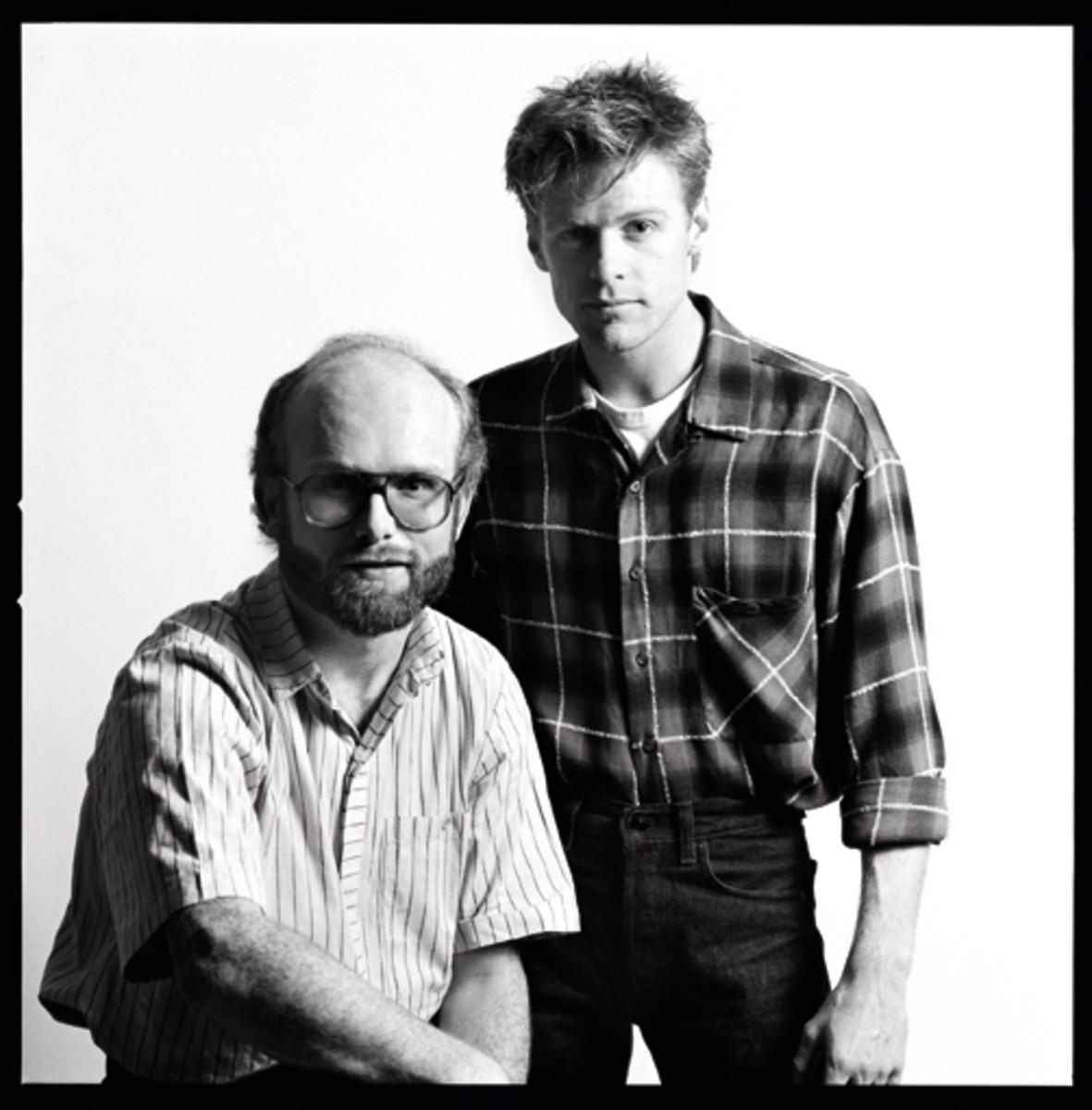 Jim Vallance and Bryan Adams. Photo by Hans Sipma.
